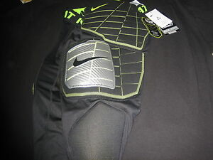NIKE PRO COMBAT ADULT SIZE M FOOTBALL IMPACT FOAM GUARDS BRAND NEW NEVER USED