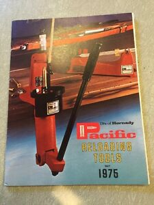 Vintage 1975 Hornady Pacific Reloading Tools Catalog - 34 Pages