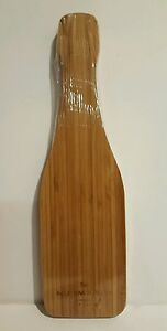 Wine Bottle Shaped Cheese Bamboo Cutting Board Mumm Napa Valley