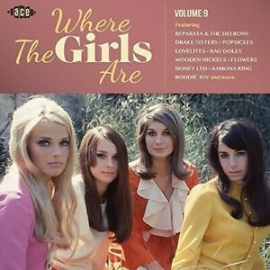 Various Artists - Vol 9-Where The Girls Are / Various [New CD] UK - Import