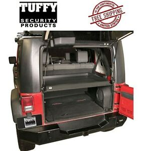 Tuffy Security Products Deluxe Deck Enclosure 07-10 Jeep Wrangler JK 2 4 Door