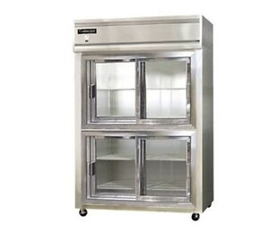 Continental Designer Line Refrigerator Two-Section 2R-SS-SGD-HD