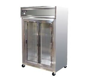 Continental Designer Line Refrigerator Three-Section 2R-SA-SGD
