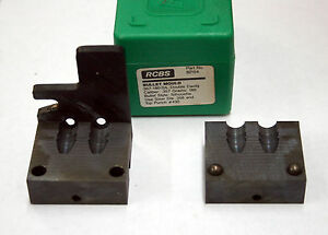 RCBS .357 Cal. 357-180-SIL 180 Gr. Double Cavity Bullet Mould #82154
