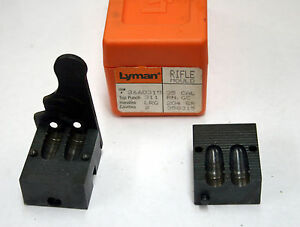 Lyman .35 Cal. #358315 204 Gr. Rifle Double Cavity Bullet Mould Item #2660315