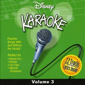 Various Artists - Disney Karaoke, Vol. 3 [New CD]
