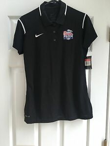NWT - Women's Dry fit Chick-fil-a Bowl Polo Nike shirt size Large black