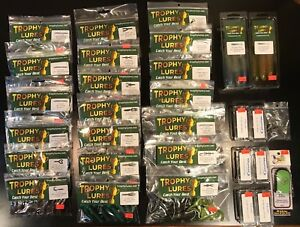 Largemouth Bass Tackle Pack - Premium Quality 246 Piece Trophy Lures Fishing Kit