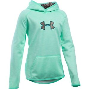Under Armour Girls' Icon Caliber Hoodie-XL