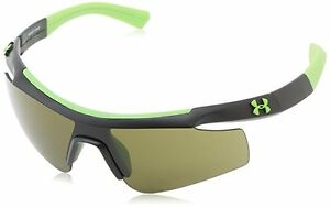 UNDER ARMOUR DYNAMO SATIN BLACK wGAME DAY LENSES YOUTH SPORT SUNGLASSES