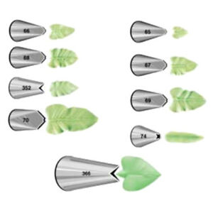 Wilton Leaf Leaves Nozzle Tips for Piping Icing Cup Cake Sugarcraft Decorating $3.99