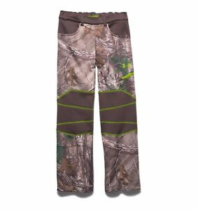 Under Armour Storm Barrier Infrared Hunting  Boy Pants NEW Size YXS  YLG YXL