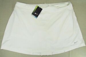 NIKE Golf Women's Dri-Fit Performance Athletic Skirt Shorts Set White Xlarge NEW