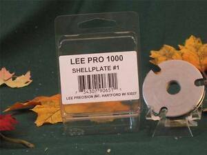 90651 Lee Pro Shell Plate # 1 for Pro 1000 Press 38 Special 357 Mag