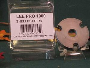90655 Lee Pro Shell Plate #7  for Pro 1000 Press  30 M-1 Carbine 3220 32 Auto