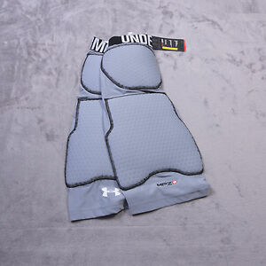 UNDER ARMOUR Compression Heatgear Mens MPZ 2 Size Extra Large XL Gray NWT NEW