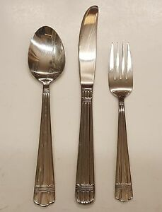 Wallace APOLLO (Ripped Front & Back) Stainless Flatware ~~CHOICE PIECE~~