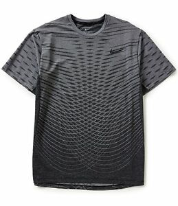 New NIKE Dry Ultimate Training Shirt Mens L 742496 Athletic Sports Dri-Fit Top