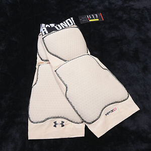 UNDER ARMOUR Compression Heatgear Mens MPZ 2 Size Extra Large XL Tan NWT NEW