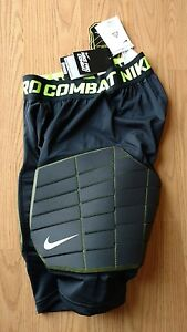 NIKE PRO COMBAT COMPRESSION DRI-FIT Mens M Shorts Hyperstrong Basketball Pads