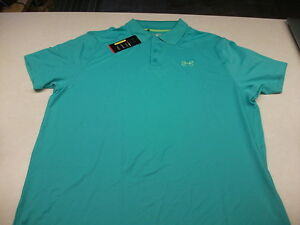 NWT UNDER ARMOUR FISHING GOLF HEATGEAR POLO SHIRT 3XL ONLY 1 I HAVE SEEN COLOR