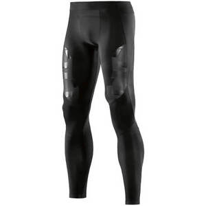 Skins Compression A400 Mens Long Tights (Oblique) + FREE AUS DELIVERY