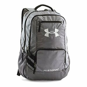 Under Armour Storm Hustle Ii Backpack GraphiteGraphite One Size Travel Bag Lugg