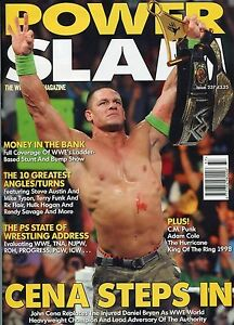 POWERSLAM MAGAZINE SLIDE COLLECTION WWE ROH ECW TNA WWE NXT WWE RARE w RIGHTS