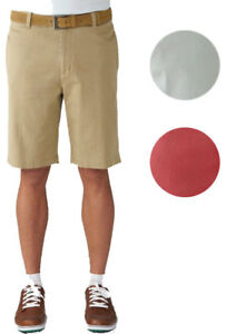 Ashworth Stretch Flat Front Twill Shorts Golf Mens Closeout New - Choose Color!