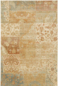 Alcott Hill Redding OrangeBeige Area Rug