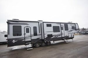 Toy Hauler Raptor 425TS RV Camper – New and Used Travel Trailers For Sale