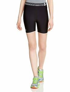 Under Armour Women's HeatGear Alpha Middy Shorts - SS15 - Medium - Black