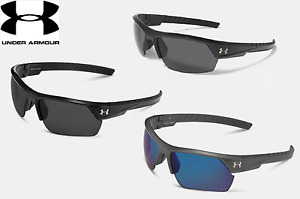 Under Armour Mens Igniter 2.0 Storm Polarized Sunglasses - Black Carbon or Gray