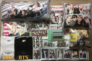 BTS Bangtan Boys Cushion+CD+Towel+Digital Photo+Tee+Pen & Case+Tumbler K-POP