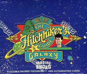 Hitchhiker#x27;s Guide to the Galaxy Card Box