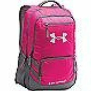 Under Armour Team Hustle Backpack Tropic PinkSilver One Size