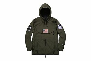 Supreme North Face Trans Antarctica Expedition PANTS and JACKET Olive Med.