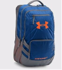 Under Armour Storm Hustle II Backpack Royal BlueGraphite 1875 ci