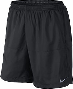 Nike 7 Inch Distance Mens Running Shorts - Black MEDIUM NEW WITH TAGS