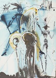 Salvador Dali Don Quichotte signed lithograph 1983 $440.00