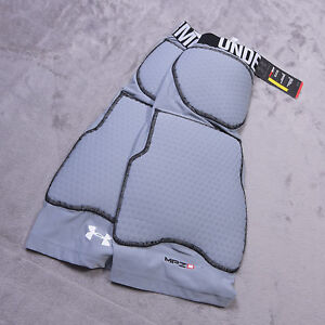 NWT NEW UNDER ARMOUR Compression Heatgear Mens MPZ 2 Size Extra Large XL Gray