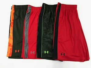 Men's Under Armour Loose Fit Heat Gear Athletic Shorts