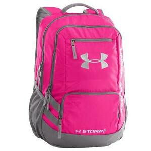 Under Armour Hustle Backpack II in Tropic Pink GraphiteWhite 1263964