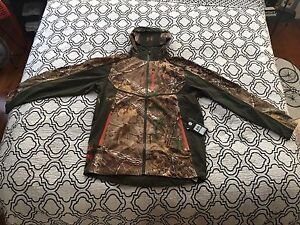 Under Armour Camo Hunting Jacket - L Large Realtree Xtra  MSRP $250
