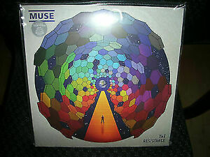 MUSE THE RESISTANCE NEW VINYL RECORD $34.96