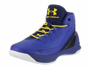 Under Armour Kids GS Curry 3 Basketball Shoe TryCspTxi 5.5 M US Big Kid