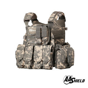 AA Shield Molle Plates Carrier 6094 Style Military Tactical Equipment Vest ACU