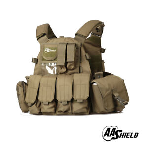 AA Shield Molle Plates Carrier 6094 Style Military Tactical Equipment Vest FG