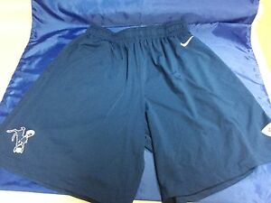 NIKE DRI-FIT Indianapolis Colts TEAM ISSUE NFL Blue Training Shorts LARGE