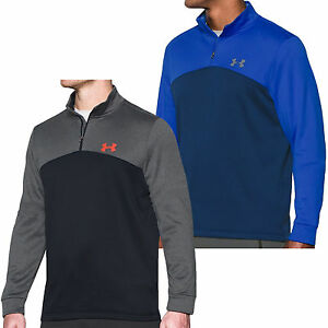 Under Armour UA Mens Loose Fit Storm Icon 14 Zip Pullover Jumper Top